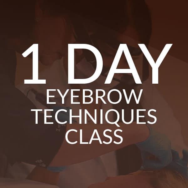 Huntington Academy - 1 Day Eyebrow Techniques Class